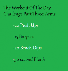 Workout Of The Day Challenge 3