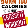 10 Minute Crossfit Workout At Home