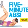 Five Minute At Home Workout For Abs